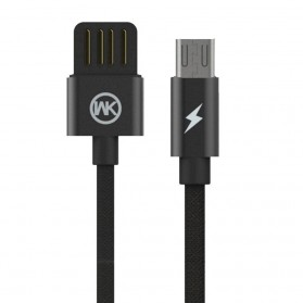 WK Babylon Series Kabel Micro USB 1M - WDC-055 - Black