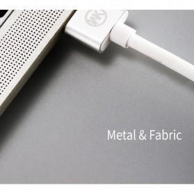 WK Babylon Series Kabel Micro USB 1M - WDC-055 - Black - 2