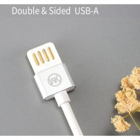 WK Babylon Series Kabel Micro USB 1M - WDC-055 - Black - 3