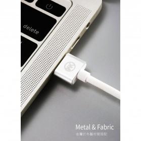 WK Babylon Series Kabel Micro USB 1M - WDC-055 - Black - 6
