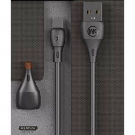 WK Kabel Charger Full Speed Micro USB - WDC-072m - Black