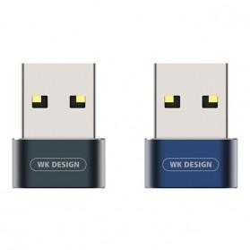WK USB Type C to USB Type C OTG Plug for Smartphone - WDC-053 - Black - 2