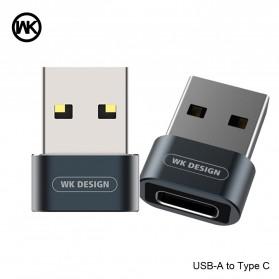 WK USB Type C to USB Type C OTG Plug for Smartphone - WDC-053 - Black - 3