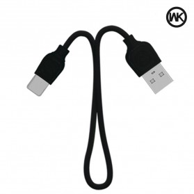 WK Colorful Series Kabel Charger Lightning - WDC-018 - Black - 1