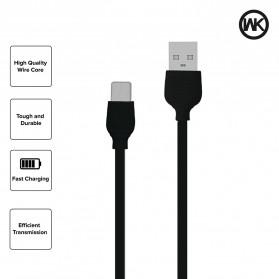 WK Colorful Series Kabel Charger Lightning - WDC-018 - Black - 3