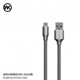 WK Kingkong Kabel Charger USB Type C 5A 1 Meter - WDC-083a - Black - 2