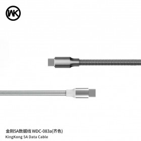 WK Kingkong Kabel Charger USB Type C 5A 1 Meter - WDC-083a - Black - 3