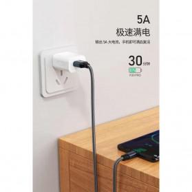 WK Kingkong Kabel Charger USB Type C 5A 1 Meter - WDC-083a - Black - 4