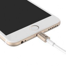 WSKEN 2 in 1 Kabel Charger Lightning & Micro USB Dual Side - Golden - 2