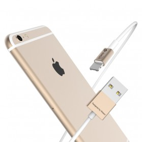 WSKEN 2 in 1 Kabel Charger Lightning & Micro USB Dual Side - Golden - 6