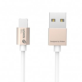WSKEN 2 in 1 Kabel Charger Lightning & Micro USB Dual Side - Golden - 7