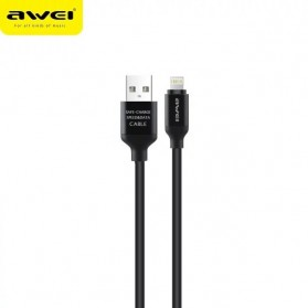 AWEI Kabel Charger Lightning - CL-80 - Black