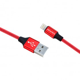 AWEI Kabel Charger Micro USB - CL-50 - Black - 2
