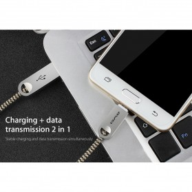 AWEI Kabel Charger Micro USB - CL-30 - Gray - 7