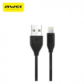 AWEI Kabel Charger Lightning 1m - CL-93 - Black