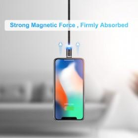 Floveme Kabel Charger Magnetic Micro USB 1 Meter - YXF93674-7 - Black - 4