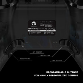 GameSir T4 Pro Gamepad Wireless Hybrid with Smartphone Holder - Black - 4