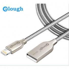 Elough Kabel Lightning Metal - Silver - 2