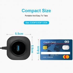 iMice USB HUB Type C Splitter 4 Port + 1 Micro USB - GL3510 - Black - 5