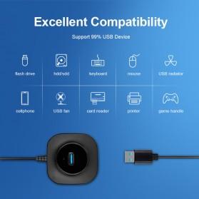iMice USB HUB Type C Splitter 4 Port + 1 Micro USB - GL3510 - Black - 6