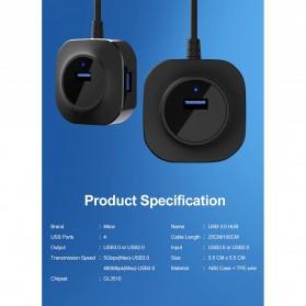 iMice USB HUB Type C Splitter 4 Port + 1 Micro USB - GL3510 - Black - 8