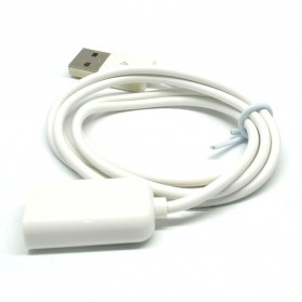 USLION USB Male to Female USB Cable Extender - 2485 - White - 3