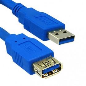 Robotsky Kabel Ekstensi USB 3.0 Male ke Female 3M - A27 - Blue - 3