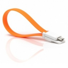 Xiaomimi Kabel Magnetic Micro USB to USB Cable for Smartphone - Orange - 2