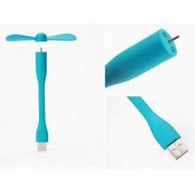 Xiaomi Portable USB Fan (Replika 1:1) - Blue - 3