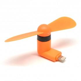 Kipas Mini Portable Lightning - Orange
