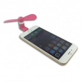 Kipas Mini Portable Lightning - Rose