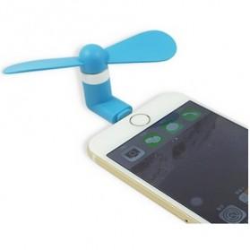 Kipas Mini Portable Lightning - Blue
