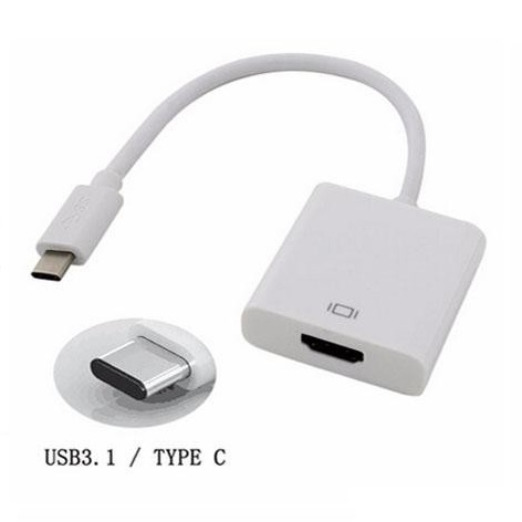 USB 3.1 Type C Male to HDMI Female Adapter Converter ...