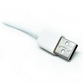 USB 2.0 Hub Adapter 4 Port Bahan Aluminium - CZH-H061 - Silver - 5