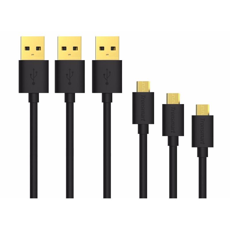 ... Tronsmart Kabel Micro USB Fast Charging 1 Meter 3 PCS - MUPP1 - Black - 2 ...