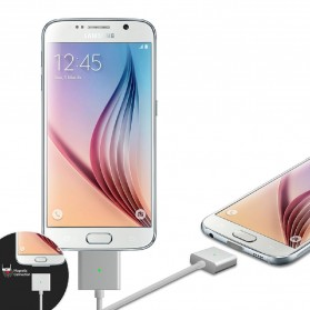 Magnetic Lightning Quick Charging Cable for iPhone - Silver - 5