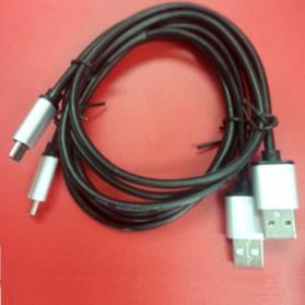 Aluminium USB Type C to USB 3.0 Cable 1 Meter - Black - 4