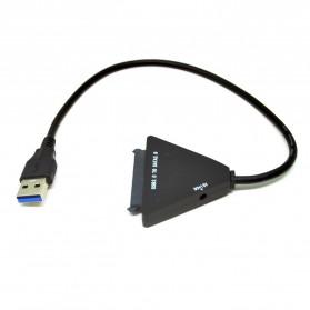 KEBIDU Kabel Konverter SATA ke USB 3.0 HDD / SSD - WS0001 - Black - 2