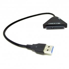 KEBIDU Kabel Konverter SATA ke USB 3.0 HDD / SSD - WS0001 - Black - 3