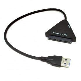 KEBIDU Kabel Konverter SATA ke USB 3.0 HDD / SSD - WS0001 - Black - 4