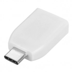 Card Reader OTG USB 3.1 Type C ke Micro SD - T-636 - White - 2