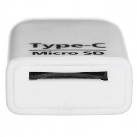 Card Reader OTG USB 3.1 Type C ke Micro SD - T-636 - White - 4