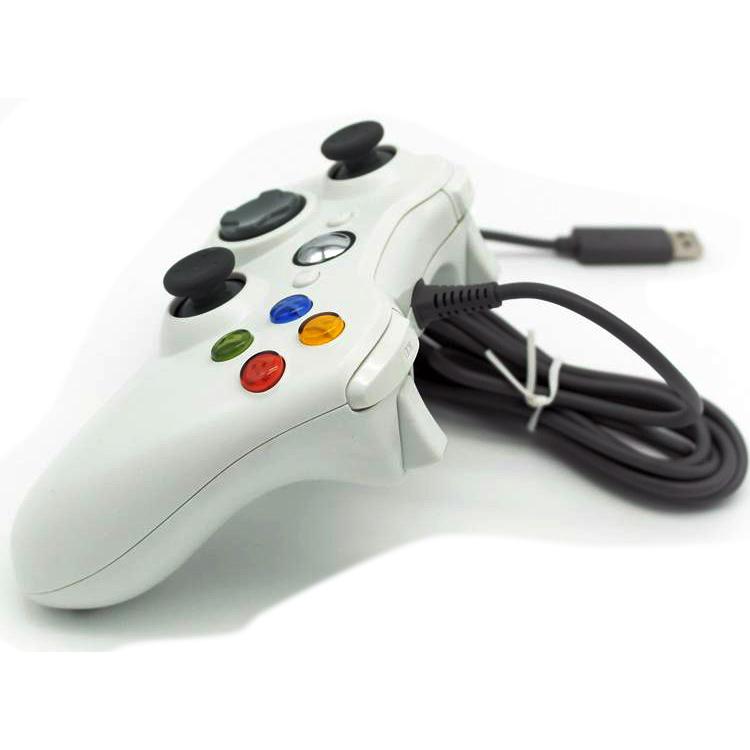 Gamepad Usb Xbox 360 Black Jakartanotebook Com
