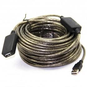 Kabel Ekstensi USB Male ke Female 20 Meter - C380 - Black - 4