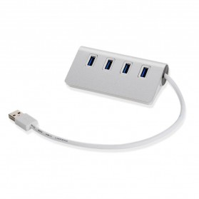 High Speed 3.0 USB HUB Adapter 4 Ports - White - 2