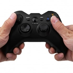 Taffware Wireless Gamepad Joystick for Smartphone,Tablet, Smart TV & PC - SH-050 - Black - 6