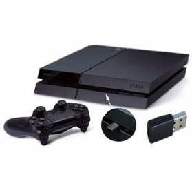 Bluetooth Dongle - Mini USB Bluetooth Dongle untuk Playstation PS4 - Black