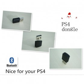 Woopower Mini USB Bluetooth Dongle untuk Playstation PS4 - 78474 - Black - 4