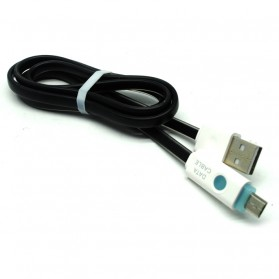 Kabel Micro USB Noodle - GHV8 - Black