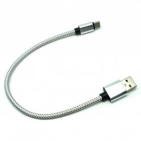 Dragon Line Kabel USB Type C 27cm - AV140 - Silver